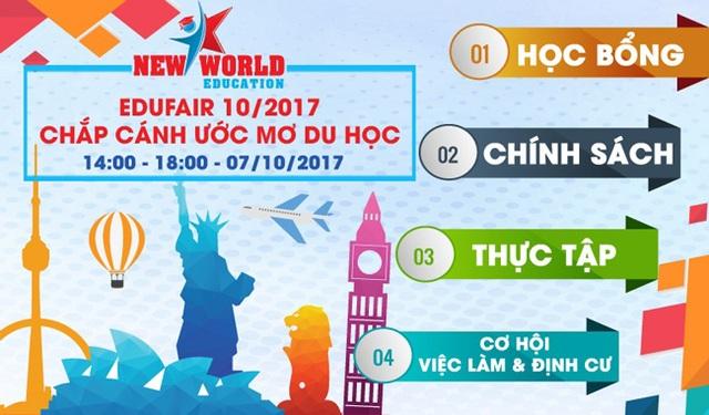 Edufair - Chắp cánh ước mơ du học Mỹ, Canada, Úc, New Zealand, Anh, Singapore và Philippines 2017-2018 - 1