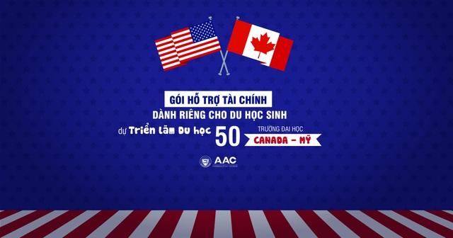 Gói hỗ trợ tài chính Mỹ dành riêng cho du học sinh dự Triển lãm Du học 50 trường Mỹ - Canada - 1