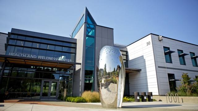 Khuôn viên hiện đại của trường Lane Community College
