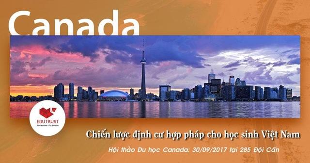 Du học Canada -  Chiến lược định cư hợp pháp cho học sinh Việt Nam - 1