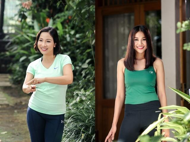 Thoạt nhìn sẽ chẳng thấy gì liên quan giữa 2 bóng hồng của showbiz Việt này