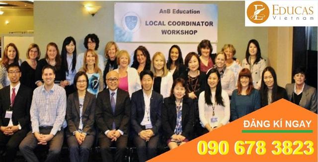 Đội ngũ nhân viên của AnB Education luôn tận tâm giúp đỡ học sinh
