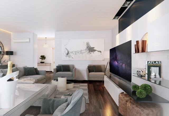 TV OLED dễ dàng hòa hợp với nhiều phong cách thiết kế khác nhau