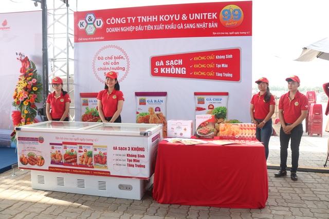 Lễ xuất sản phẩm đầu tiên đi Nhật hôm đầu tháng 9 của Koyu & Unitek
