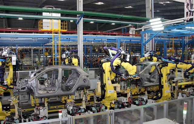 Có thể bỏ ra vài trăm triệu USD là nhập được một dây chuyền sản xuất khung xe (ảnh minh họa)