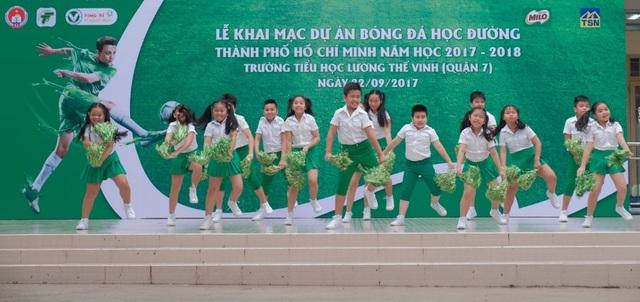 Năm học 2017 – 2018 sẽ có 181 trường tiểu học tham gia giải Festival Bóng đá học đường