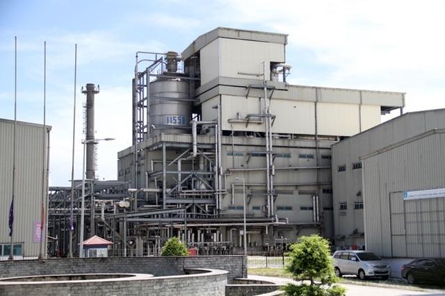 Nhà máy xơ sợi polyester Đình Vũ.
