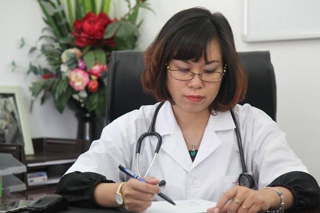 Bác sĩ Nguyễn Hồng Vân (công tác tại Bệnh viện đa khoa Hồng Hà)