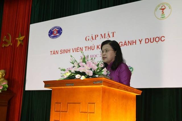 PGS.TS. Nguyễn Thị Xuyên, nguyên Thứ trưởng Bộ Y tế, Chủ tịch Tổng hội Y học Việt Nam.