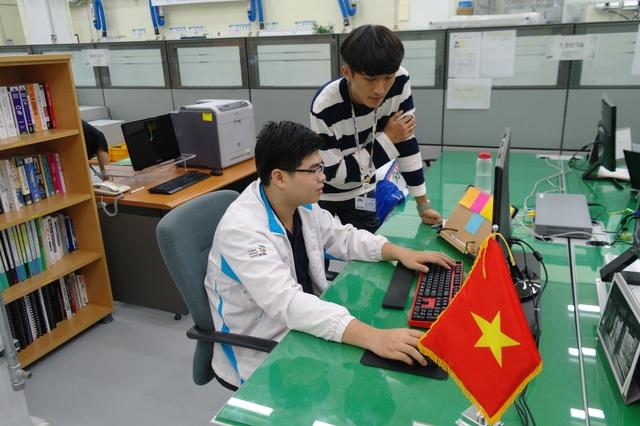 Trần Nguyễn Bá Phước được tập huấn tại Trung tâm Đào tạo kỹ năng Olympic Samsung.