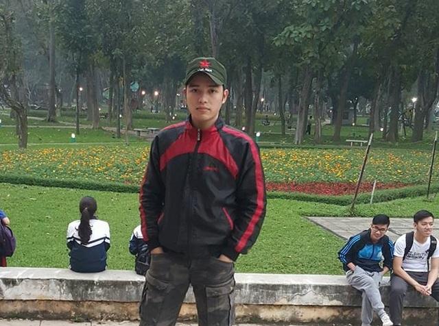Trịnh Văn Đức - người mở lớp võ miễn phí cho sinh viên.