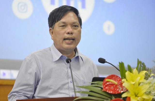 Ông Lê Hoàng Ngọc phát biểu tại Hội thảo