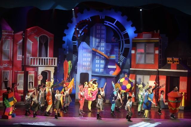 Những trường đoạn sân khấu của nhạc kịch sẽ mất đi tinh thần nếu thiếu phần âm nhạc phù hợp và hấp dẫn