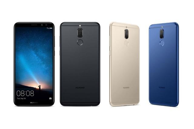 Huawei nova 2i được bán ở Việt Nam với hai màu Black và Gold