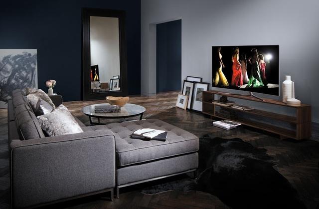 Cải tiến về mặt thẩm mỹ giúp TV Samsung trở nên hài hòa với bất kì không gian nội thất nào mà nó có mặt