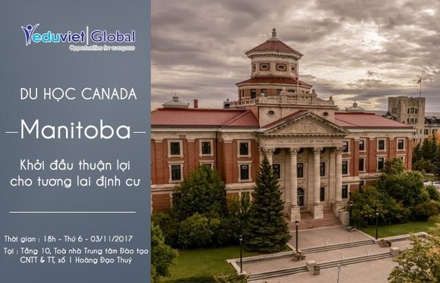 Du học Canada: Manitoba – Khởi đầu thuận lợi cho tương lai định cư - 1