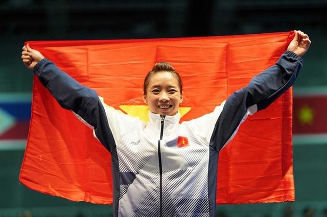 Dương Thúy Vi đoạt HCV đầu tiên cho Thể thao Việt Nam ở bộ môn Wushu
