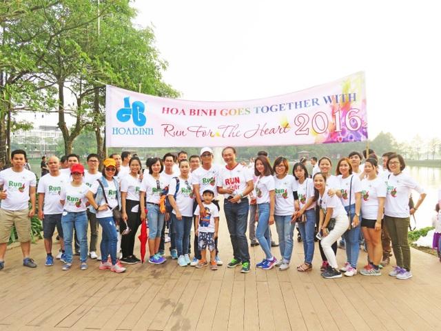 Đây cũng là năm thứ 3 Công ty CP Tập đoàn Xây dựng Hòa Bình vinh hạnh là nhà tài trợ chính, đồng hành cùng Gamuda Land (HCMC) và Quỹ Nhịp tim Việt Nam trong hành trình đem lại những trái tim non khỏe mạnh cho trẻ em nghèo trên khắp đất nước.