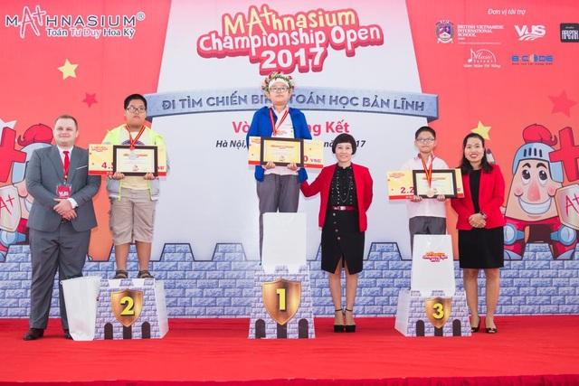 Những thí sinh xuất sắc nhất đã lộ diện tại Vòng Chung kết Mathnasium Championship Giải mở rộng mùa đầu tiên.