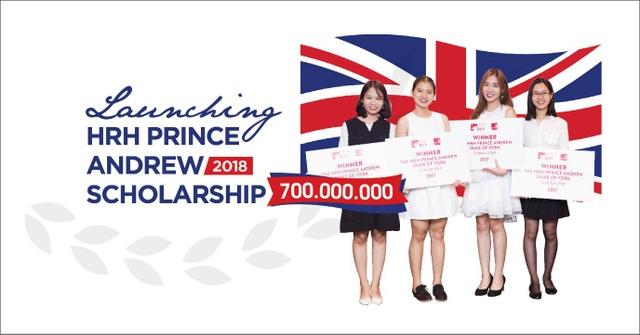 Khởi động chương trình Học bổng Hoàng tử Andrew 2018 trị giá lên tới 700 triệu đồng - 1