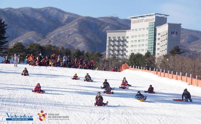 Trải nghiệm trượt máng tại nơi diễn ra Thế vận hội Olympic mùa đông 2018