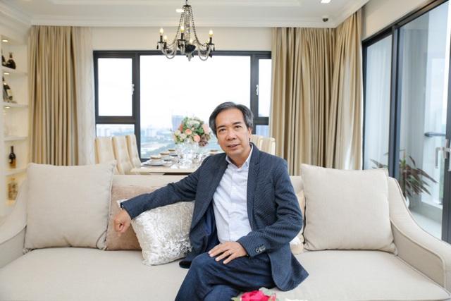 Ông Lê Bá Thông – Chuyên gia kiến trúc – nội thất nổi tiếng trong giới bởi các công trình nổi tiếng trong TPHCM như khách sạn Pullman, Sheraton…