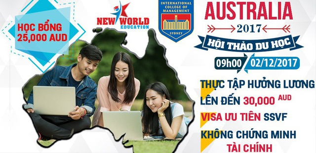 Hội thảo du học Úc: Ngành Quản trị nhà hàng khách sạn – Thực tập hưởng lương, cơ hội việc làm và định cư - 1