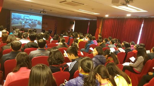"""Hơn 120 phụ huynh, học sinh tham gia Workshop """"Cùng con chuẩn bị cho kỳ thi vào 10"""" - ảnh BTC"""