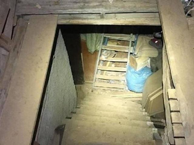 Vụ việc chấn động xảy ra trong một căn hầm ở Gizzeria, nước Ý.