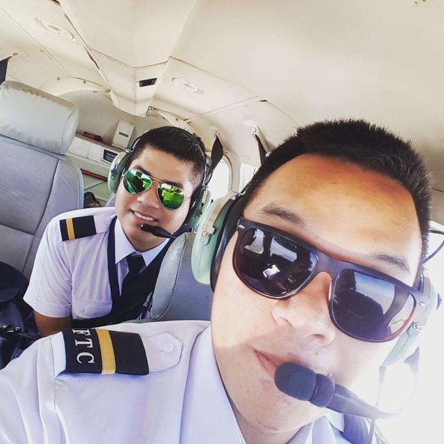 Học viên Trung tâm Huấn luyện Bay đang thực hành bay.