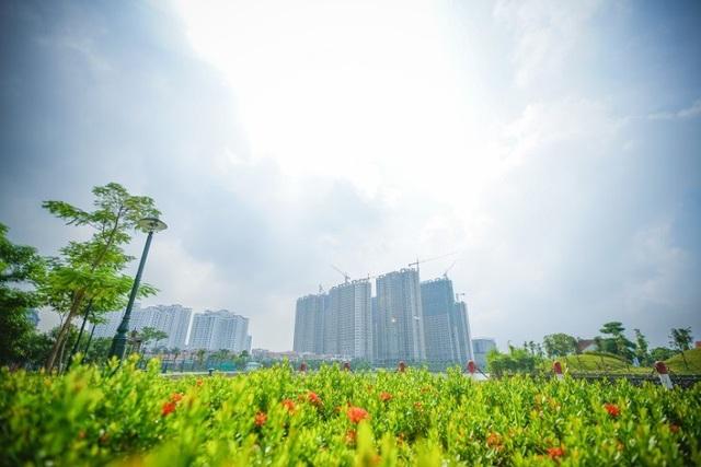 Cả 8 tòa căn hộ An Bình City đều đã cất nóc
