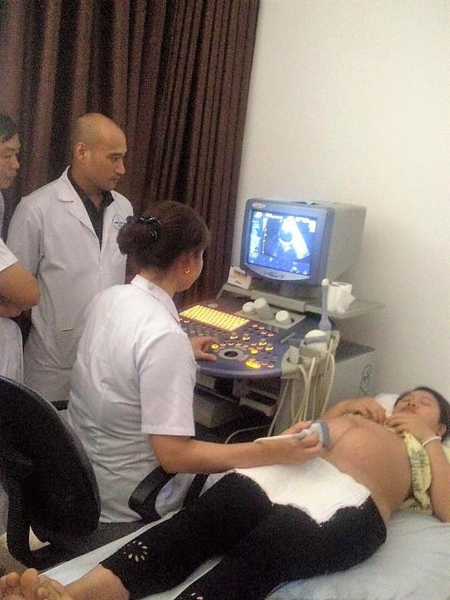Giờ đây, các bác sĩ đã có thể thuần thục kỹ thuật siêu âm 4D nhờ sự trợ giúp về cơ sở vật chất, thiết bị từ BVPSTW