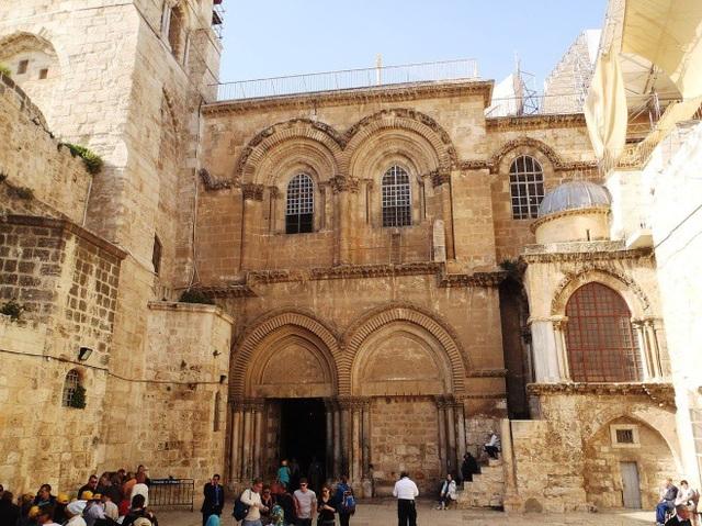 Nhà thờ Mộ Chúa Jesus ở Jerusalem (Ảnh: Wiki)