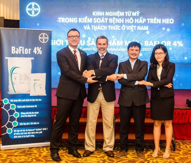 Bayer Việt Nam và đối tác cam kết hỗ trợ người chăn nuôi Việt Nam kiểm soát bệnh hô hấp trên heo với các giải pháp toàn diện