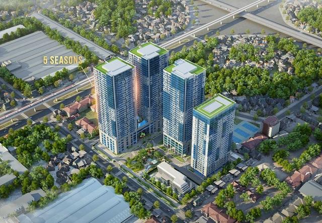 """5 Seasons là dự án bất động sản cao cấp """"đắt giá"""" nhất thị trường khu vực phía Tây"""
