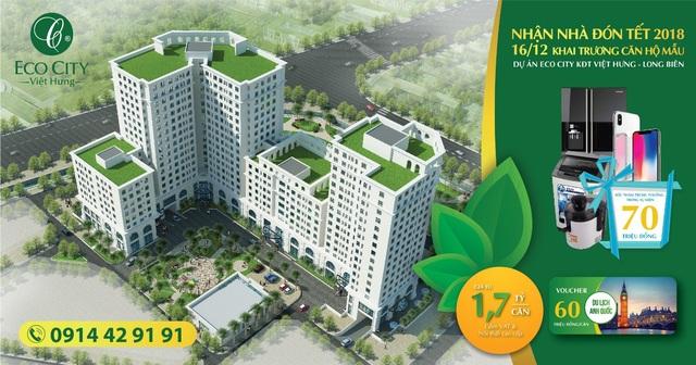 Nhận nhà trước Tết, quà tặng ngập tràn dịp khai trương nhà mẫu Eco City - 1