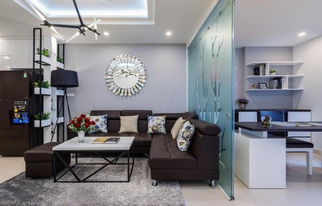 Căn hộ mẫu 2+1 phòng ngủ T&T Riverview được thiết kế linh hoạt tối đa không gian sống lý tưởng.
