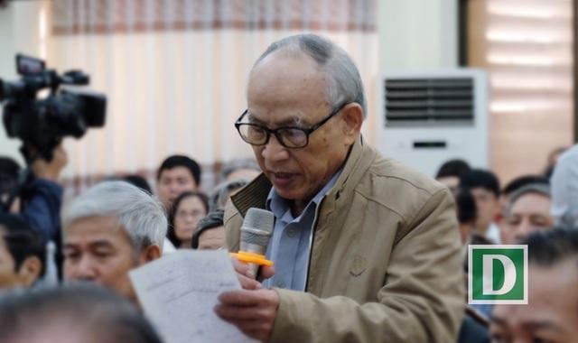 Cử tri Đặng Vân ghi nhận những cố gắng của lãnh đạo Đà Nẵng thời gian qua.