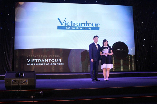 Vietrantour đạt giải thưởng cao quý của Tổng cục Du lịch Hàn Quốc - 1