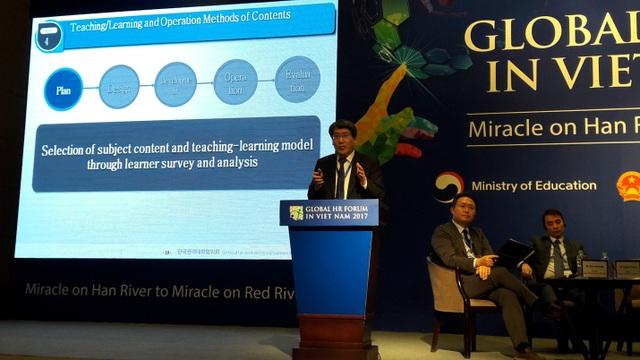 ông Namgung Moom, Hiệu trưởng Đại học Số Hàn Quốc