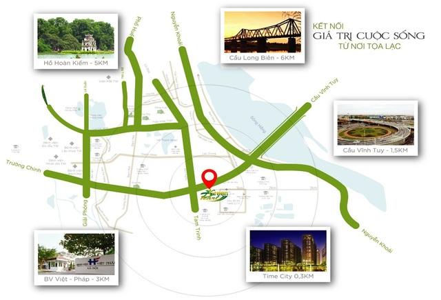 Dự án trục đường Minh Khai mới nối từ Minh Khai – Vĩnh Tuy – Yên Duyên góp phần thay đổi diện mạo phía Nam Thủ đô