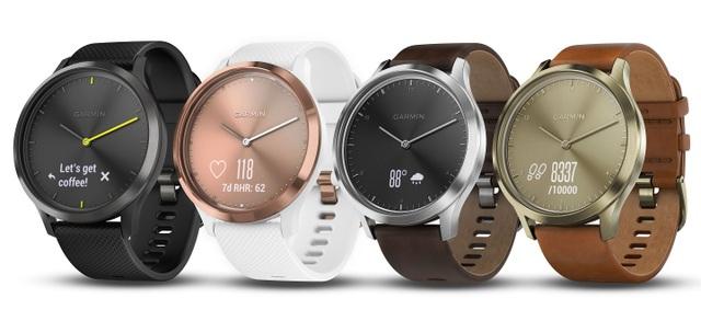 Garmin ra mắt đồng hồ thông minh tích hợp màn hình cảm ứng - vívomove HR - 1