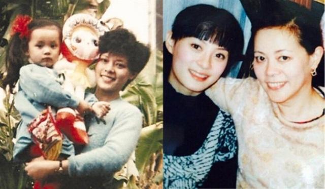 Tôn Lệ gắn bó với mẹ từ nhỏ tới lớn