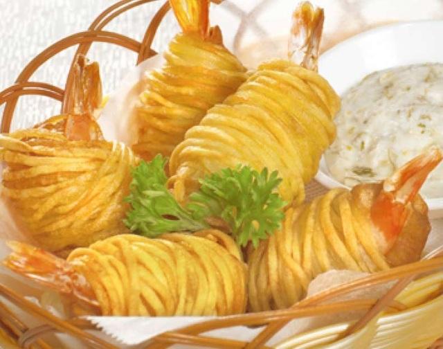 Tôm cuộn khoai tây chiên- sự lựa chọn thông minh cho bữa cơm cuối tuần - 5