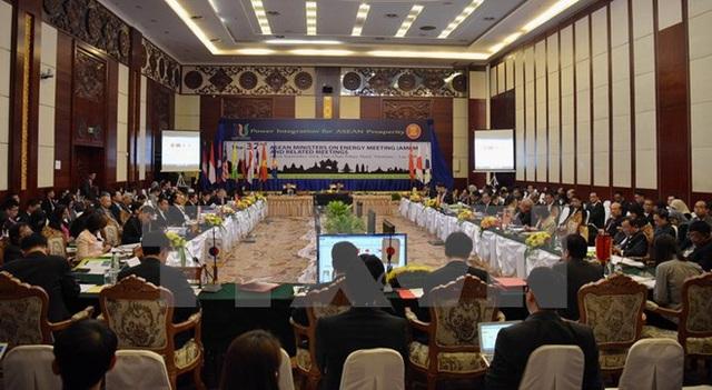 Hội nghị Bộ trưởng Năng lượng ASEAN lần thứ 32, tổ chức tại Thủ đô Vientiane (Lào) ngày 23/9/2014. (Ảnh: Tư liệu TTXVN)