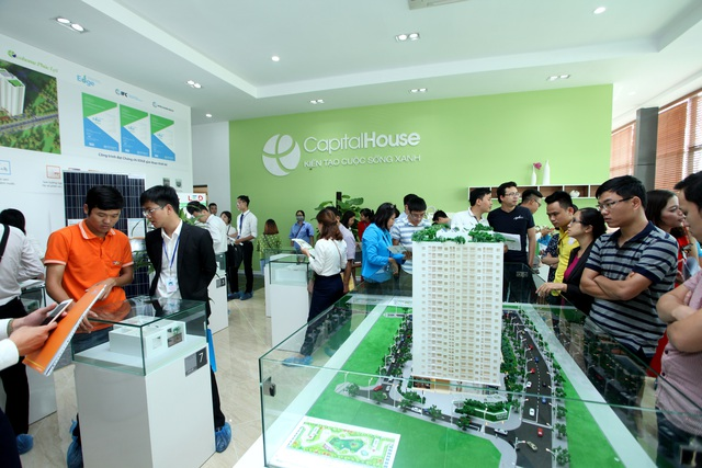 Ecohome Phúc Lợi là dự án đầu tiên ở phân khúc căn hộ giá rẻ đạt được chứng chỉ xanh quốc tế thu hút rất nhiều khách hàng quan tâm