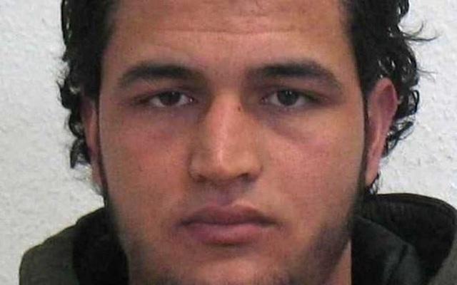 Anis Amri - nghi can chính trong vụ tấn công bằng xe tải tại Berlin.