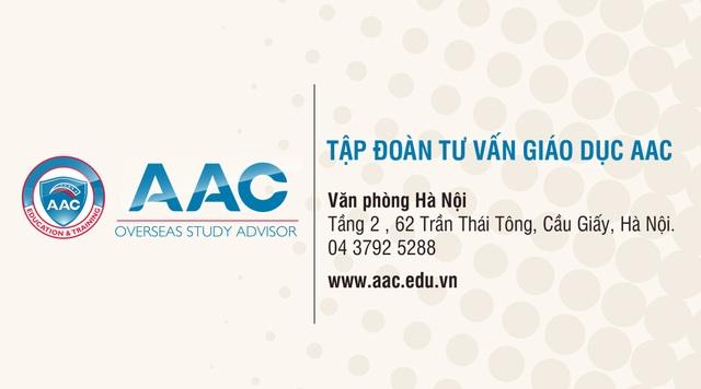 Công bố học bổng 14 trường đại học Mỹ tại AAC - 2