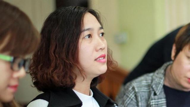 Cô giáo Trần Thị Thu Nhung. Ảnh Lê Văn
