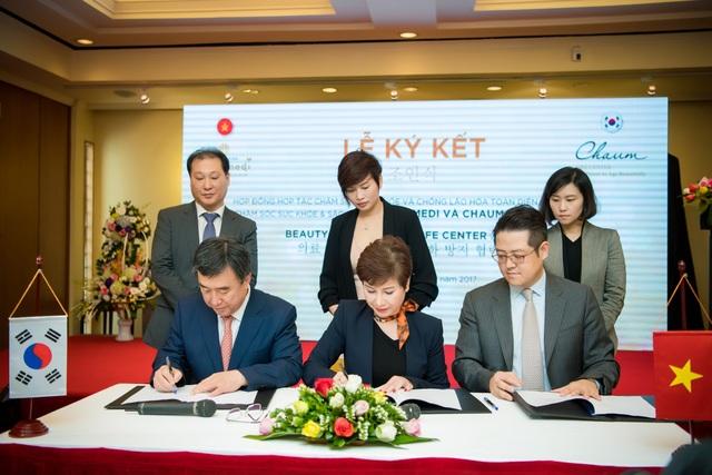 Ngày 22/2/2017, Lễ ký kết giữa Thanh Hằng Beauty Medi và Chaum Life Center , thuộc tập đoàn y tế hàng đầu thế giới CHA đến từ Hàn Quốc đã diễn ra
